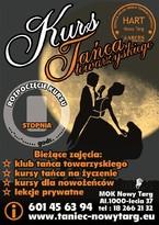Kurs Tańca Towarzyskiego dla Dorosłych i Młodzieży