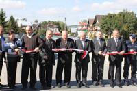 Uroczyste otwarcie i poświecenie mostów w Lasku i Trutem