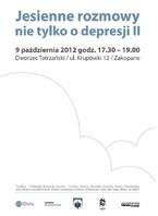 Jesienne rozmowy nie tylko o depresji II
