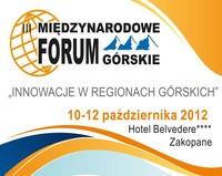 III Międzynarodowe Forum Górskie