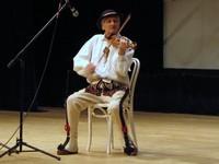 Mieczysław Majerczyk podczas XXXVII Konkursu Muzyk Podhalańskich im. Tomasza Skupnia - fot. Archiwum Organizatorów