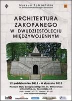 Architektura Zakopanego w dwudziestoleciu międywojennym