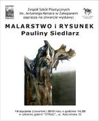 Malarstwo i Rysunek Pauliny Siedlarz w Galerii Strug