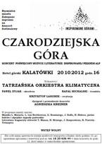 Koncert Tatrzańskiej Orkiestry Klimatycznej