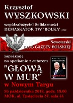 Spotkanie z Krzysztofem Wyszkowskim