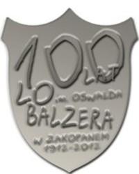 Podziękowania dla organizatorów obchodów 100-lecia LO im. O. Balzera