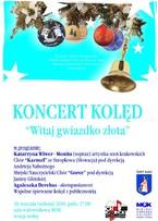 """Koncert Kolęd Chóru """"Gorce"""" i Chóru """"Karmel"""" ze Słowacji"""