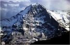 """Północna ściana Eigeru. Kadr z filmu """"Zew ciszy"""""""