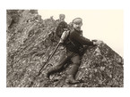 Mariusz Zaruski na koniu na Rohaczu Ostrym