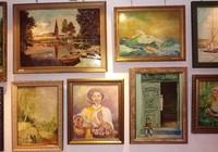 Wystawa malarstwa Andrzeja Bąka