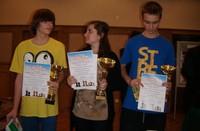 Sukces ucznia krościeńskiego gimnazjum na turnieju szachowym w wielickim magistracie