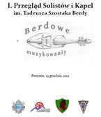 I Przegląd Solistów i Kapel im. Tadeusza Szostaka Berdy