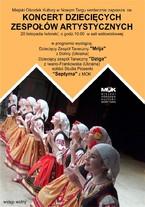 Koncert Dziecięcych Zespołów Artystycznych