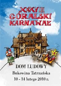 W lutym zaprasza na XXXVIII Góralski Karnawał