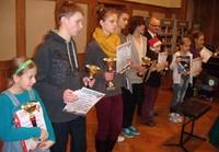 Podium dla krościeńskiego gimnazjalisty w Mikołajkowym Turnieju Szachowym