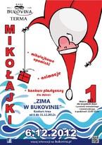 Św. Mikołaj odwiedzi Termę Bukovina