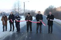 Otwarcie drogi Krościenko-Szczawnica po przebudowie