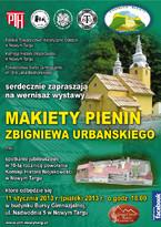 Makiety Pienin Zbigniewa Urbańskiego