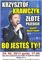 Koncert Walentynkowy – Złote Przeboje Krzysztofa Krawczyka