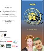 Najbliższy salon poezji - Katarzyna Gniewkowska i Juliusz Chrząstowski