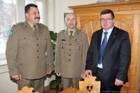 Wizyta nowego komendanta KOSG