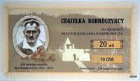 Ostatnie dni sprzedaży cegiełek na remont mauzoleum Jana Kasprowicza