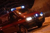 Wypadek na ulicy Kościeliskiej