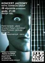 Koncert jazzowy Rafał Sarnecki Group