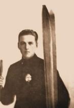 Władysław Gąsienica Pazdur, zawodnik SNPTT, skoczek i biegacz, fot. z książki Narciarstwo polskie, tom I, Kraków 1925