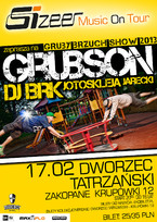 Sizeer Music On Tour – GrubSon i BRK