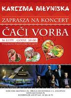 Kocert walentynkowy Caci Vorba