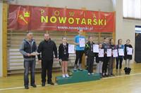 Igrzyska Powiatu Nowotarskiego w Tenisie Stołowym