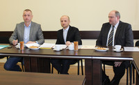 Podpisanie umowy na przebudowę ulicy Waksmundzkiej