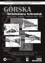 Górska — architektura schronisk