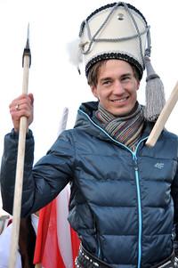 Kamil Stoch świętował swój sukces