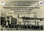 Mieszkańcy kamieniczek nowotarskiego Rynku na przełomie XIX/XX wieku. Kamienica nr 14 i 15