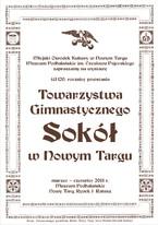 Wystawa w 120. rocznicę powstania Towarzystwa Gimnastycznego Sokół w Nowym Targu
