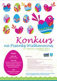 Konkurs na Pisankę Wielkanocną