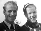 Na zdjęciu: FIS 1939 w Zakopanem, konkurs skoków 19 lutego 1939. Stanisław Marusarz (po lewej) i Asbjoern Ruud (Norwegia), fot. ze zbiorów Wojciecha Szatkowskiego