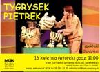 Teatr za złotówkę: Tygrysek Pietrek