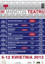 III Maraton Teatru