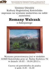 Wystawa malarstwa Romany Walczak