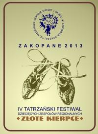 """Przed nami IV Tatrzański Festiwal Dziecięcych Zespołów Regionalnych """"O Złote Kierpce"""""""