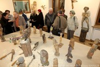 Rzeźby Edwarda Sutora w Muzeum Podhalańskim