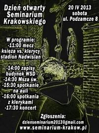 Dzień otwarty Krakowskiego Seminarium