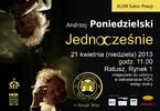 XLVIII Salon Poezji - Andrzej Poniedzielski