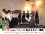 """""""CROZ DA LA STRIA"""" ze Spiazzo w Trydencie zaśpiewa w MOK"""