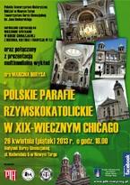 Polskie parafie rzymskokatolickie w XIX-wiecznym Chicago