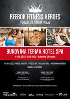 Trenuj z Reebokiem w BUKOVINIE i zostań bohaterem fitnessu