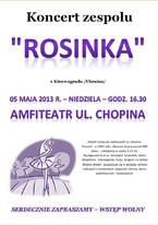 """Koncert zespołu """"Rosinka"""" z Kirowogradu"""